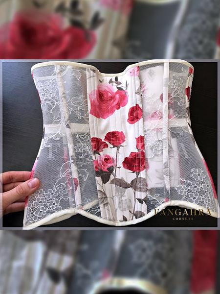 ae20f630f68 High overbust transparent corset