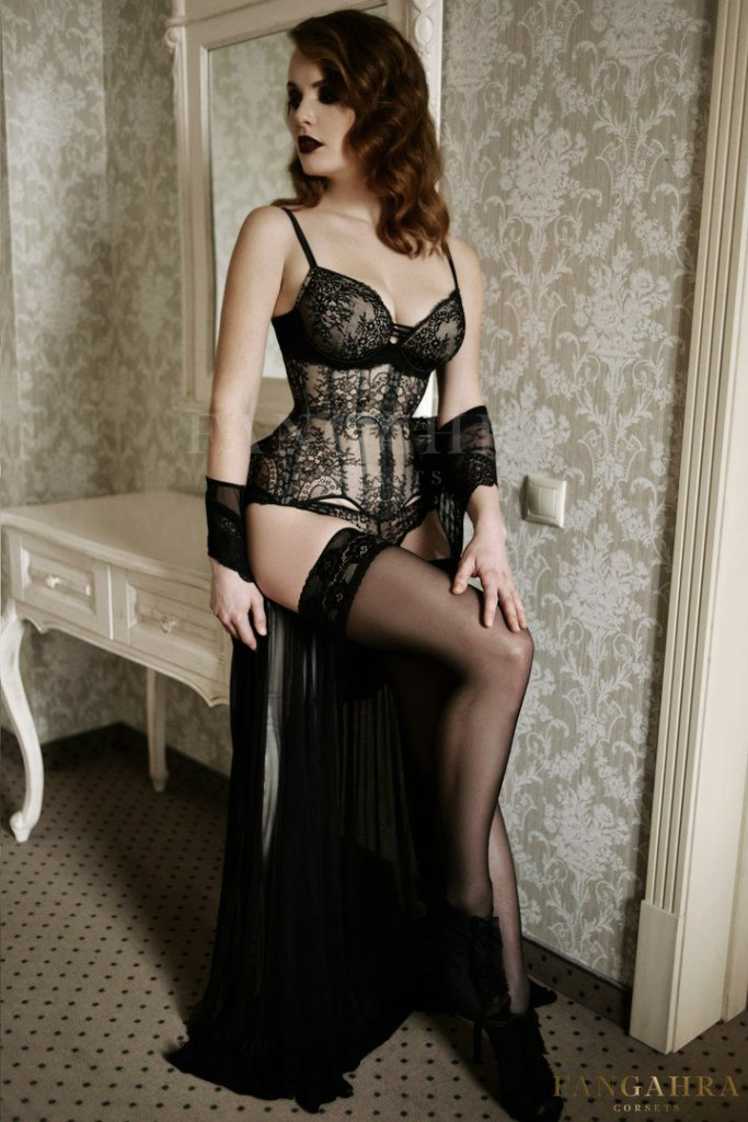 e38cca683d1 Transparent mesh corset