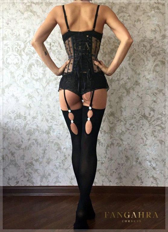 244239be10a Mesh corset