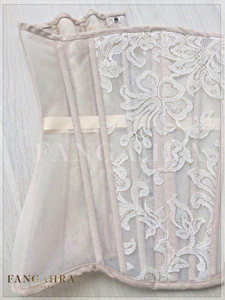 """Lingerie corset """"Beige Lily"""""""